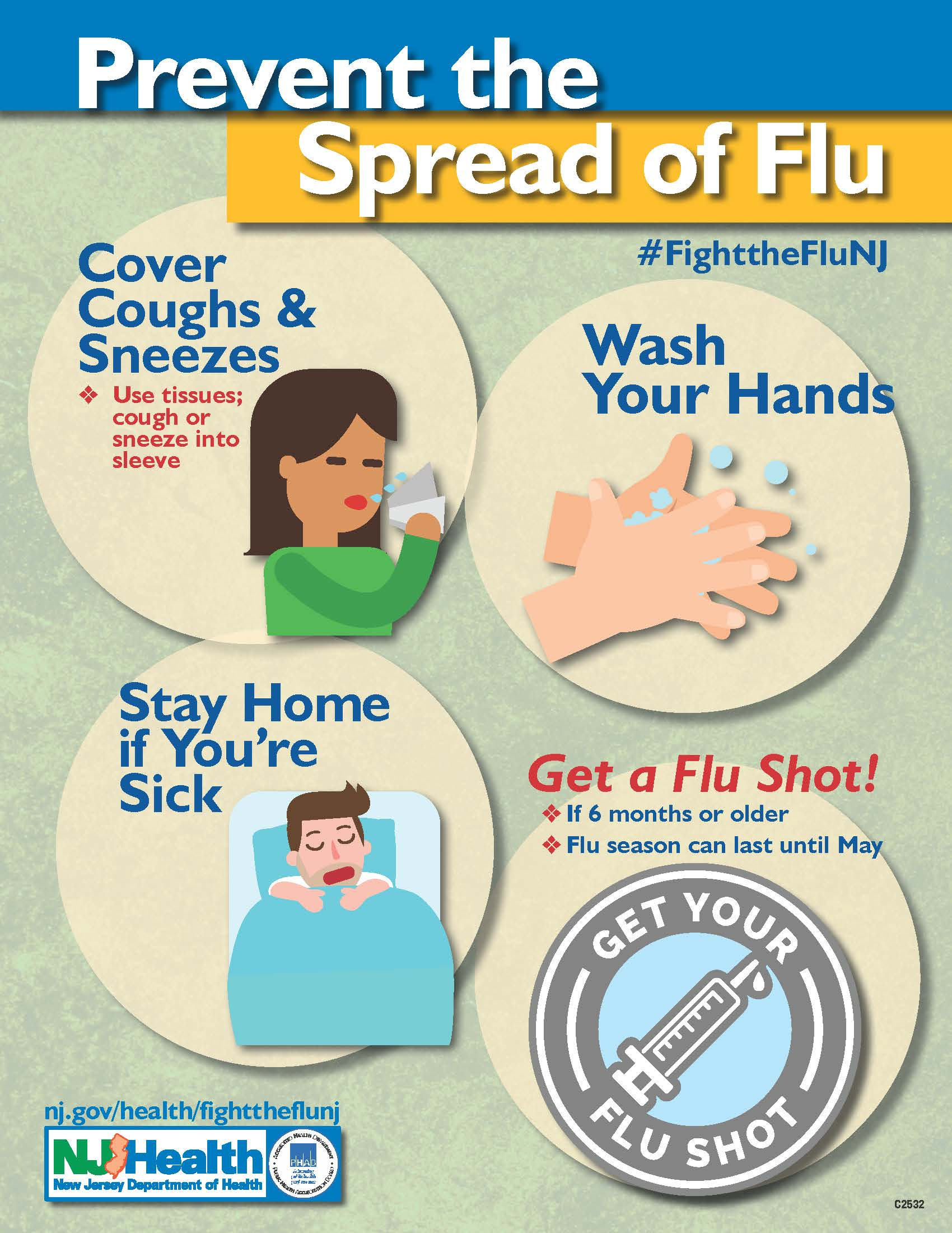Prevent Spread of Flu